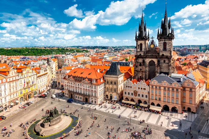 Прага-Дрезден из Гомеля 07.03.2019