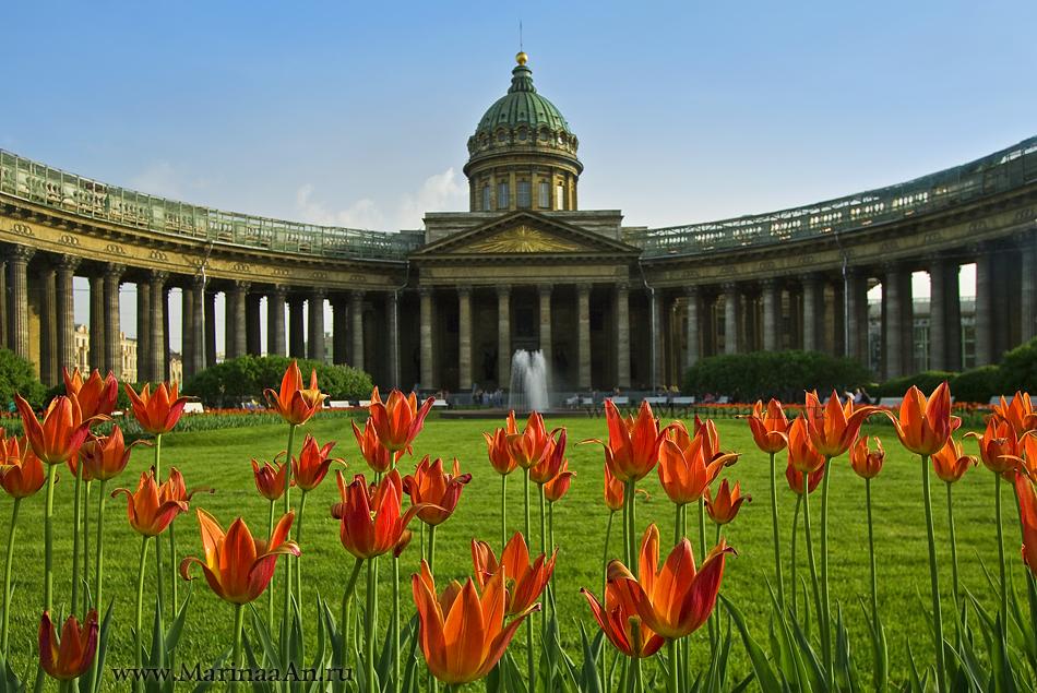 Санкт-Петербург на майские праздники от